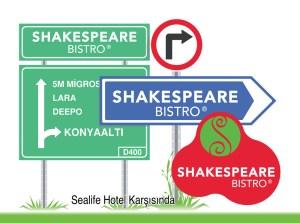 Shakespeare Bistro Konyaaltı Megalight Batı